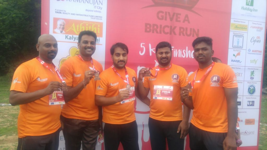 Give A Brick Run Event